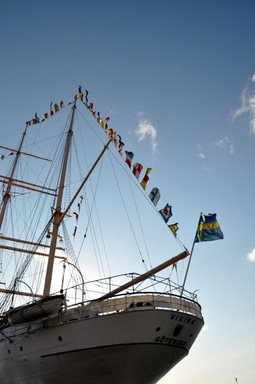 Ship at Gothenburg harbour