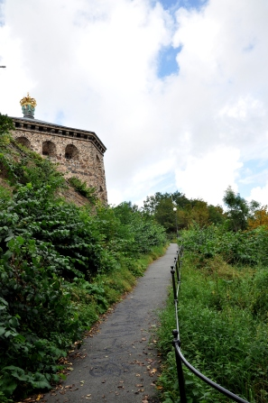 Path to Skansen Kronan