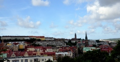 View of the town from Skansen Kronan