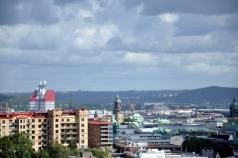 View of the harbor from Skansen Kronan